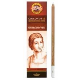 Пастельный карандаш Gioconda белый меловой