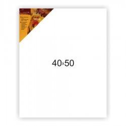 Холст на подрамнике Сонет 100% лен, среднее зерно, 40x50 см.