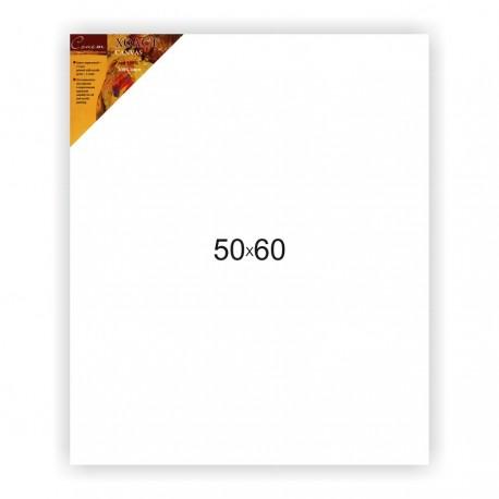 Холст на подрамнике Сонет 100% лен, среднее зерно, 50x60 см.