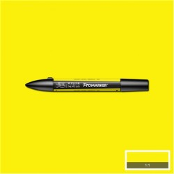 Маркер двусторонний Promarker W&N Желтый (Y657, Yellow)