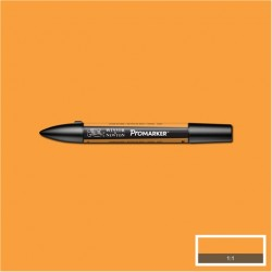Маркер двусторонний Promarker W&N Оранжевый медовый (O547, Honeycomb)