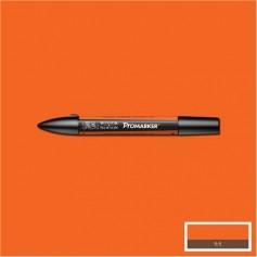 Маркер двусторонний Promarker W&N Оранжевый мандарин (O277, Mandarin)