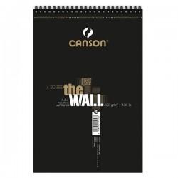Альбом для маркеров Canson The Wall, А4, 220 г/м2, 30л.
