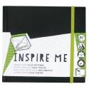 Скетчбук Derwent Inspire Me, 140Х140 мм., 120 г/м2, 80л.