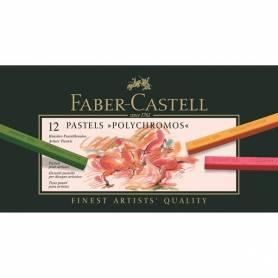 Набор сухой пастели Polychromos от Faber-Castell, 12 шт.