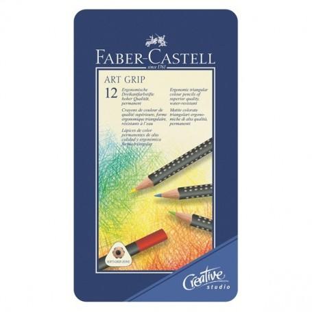 Набор цветных карандашей Art Grip от Faber-Castell, 12 шт.