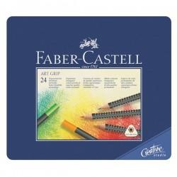 Набор цветных карандашей Faber-Castell Art Grip, 24 шт.