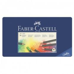 Набор цветных карандашей Faber-Castell Art Grip в металлической коробке, 36 шт.