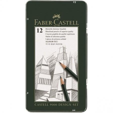Набор простых карандашей Castell 9000 Design Set