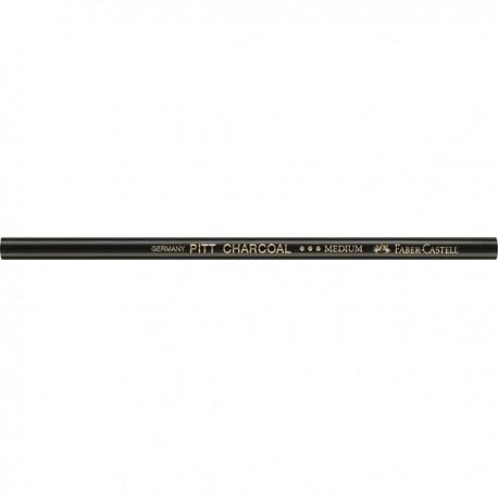 Натуральный уголь-карандаш твердый Pitt Monochrome от Faber-Castell