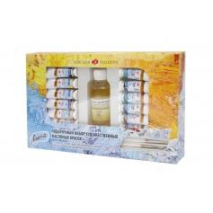 Подарочный набор масло Ладога 12 тубов по 18 мл.