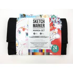 Набор маркеров SKETCHMARKER Manga set 24 - Манга набор