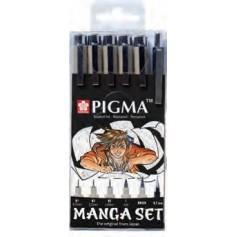 Набор для рисования манги Sakura Pigma Micron Manga, 6 шт.