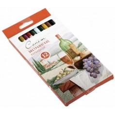 Экстрамягкие карандаши Сонет, 12 цветов