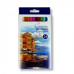 Набор пастельных карандашей Сонет, 24 цвета