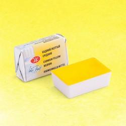 "Кадмий желтый средний акварель ""Белые ночи"", кювет 2.5 мл."