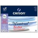 Альбом для акварели Canson Montval Снежное зерно 29.7x42 см., 12 л., 270г/м2, склейка по короткой стороне