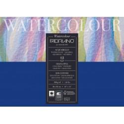 Альбом для акварели Fabriano Watercolour Studio Фин 26x36 см., 12 л., 300 г/м2, склейка по длинной стороне