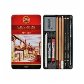 Художественный набор Koh-i-Noor Gioconda, 10 предметов, металл