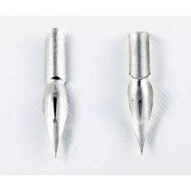 Перо Nikko Saji-pen N357N мягкого типа (олово)