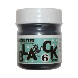 Черные чернила Deleter Black 6