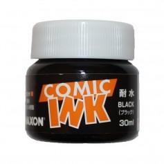 Черные водостойкие чернила Maxon