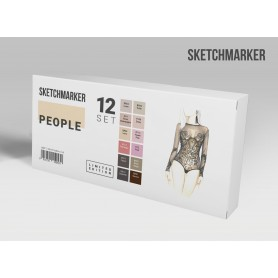 Набор маркеров SKETCHMARKER People 12 set - Люди