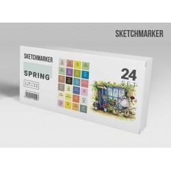 Набор маркеров SKETCHMARKER Spring 24 set - Весна