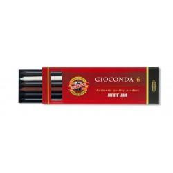 Набор стержней Koh-i-noor Gioconda MIX №3, 5.6 мм., 6 шт.