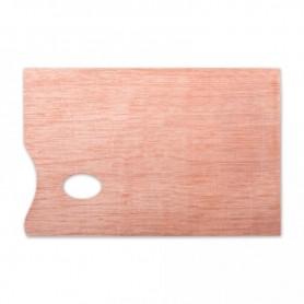Палитра ДВП, фанера, прямоугольная, 30х40 см, толщина 5 мм.