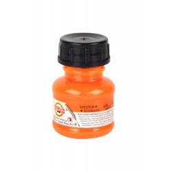 Тушь оранжевая акриловая на водной основе Koh-i-noor, 20 мл.