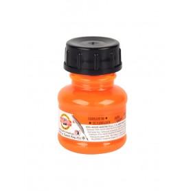 Тушь оранжевая акриловая на водной основе, 20 мл.