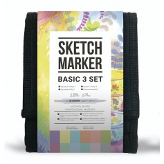 Набор маркеров SKETCHMARKER Basic 3 set 12