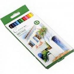 Набор цветных карандашей Сонет, 12 цветов