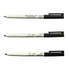 Ручки капиллярные Sakura Calligraphy Pen Black