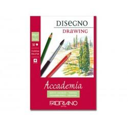 Альбом для рисования Fabriano Academia Drawing 14,8x21 см., 30 л., 200 г/м2., склейка по короткой стороне