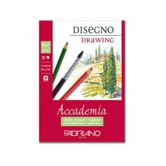 Альбом для рисования Fabriano Academia Drawing 21x29,7 см., 30 л., 200 г/м2., склейка по короткой стороне