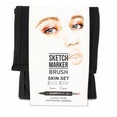 Набор маркеров SKETCHMARKER BRUSH 12 Skin Set - Оттенки кожи