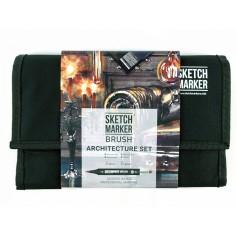 Набор маркеров SKETCHMARKER BRUSH 24 Architecture Set - Архитектура