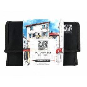 Набор маркеров SKETCHMARKER BRUSH 24 Outdoor Set - Плэнер
