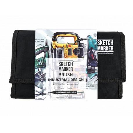 Набор маркеров SKETCHMARKER BRUSH 24 Industrial Design - Промышленный дизайн