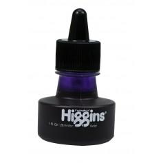 Чернила фиолетовые Higgins Vioket Dye-Based, 1 OZ (29,6 мл.)