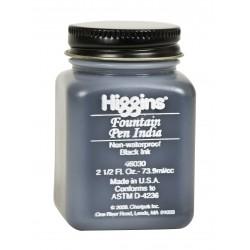 Чернила черные Higgins Fountain Pen India Ink, 2,5 OZ (73,9 мл.)