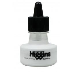 Чернила белые Higgins Super White Pigment-Based, 1 OZ (29,6 мл.)