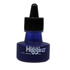 Чернила Higgins Blue Pigment-Based, 1 OZ (29,6 мл.)