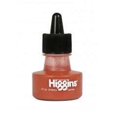 Чернила карминовые Higgins Carmine Pigment-Based, 1 OZ (29,6 мл.)