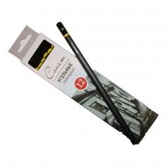Угольный карандаш Сонет, средняя твердость