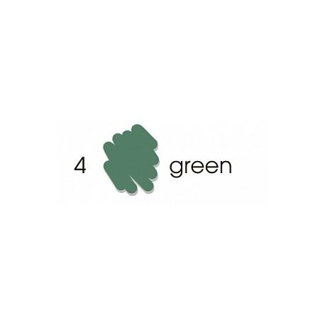Маркер-кисть акварельный Marvy Artists Brush Зеленый (№4, Green)