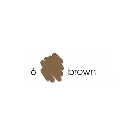 Маркер-кисть акварельный Marvy Artists Brush Коричневый (№6, Brown)