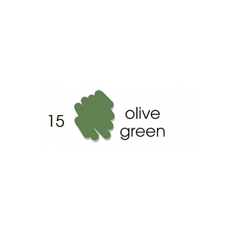 Маркер-кисть акварельный Marvy Artists Brush Оливковый зеленый (№15, Olive Green)